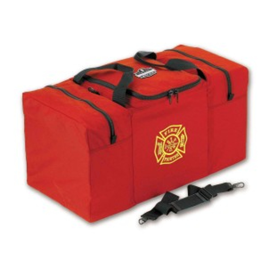 Ergodyne #GB5060 Step-In Combo Gear Bag with 3 Zippers - Red