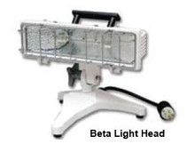 Akron PL-Series Portable Light Base with AC Plug (LightHead Not Included)