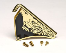 "Cairns Silk Screened ""Eagle"" Front Holder with Post & Screws"