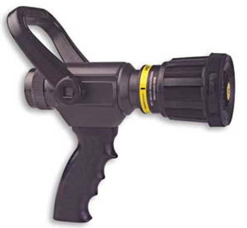 "Akron 1"" Assault Nozzle with Pistol Grip and Spinning Teeth (Specify GPM & PSI)"