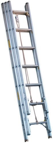 Alco-Lite Aluminum 3-Section Extension Ladder - SELECT SIZE BELOW