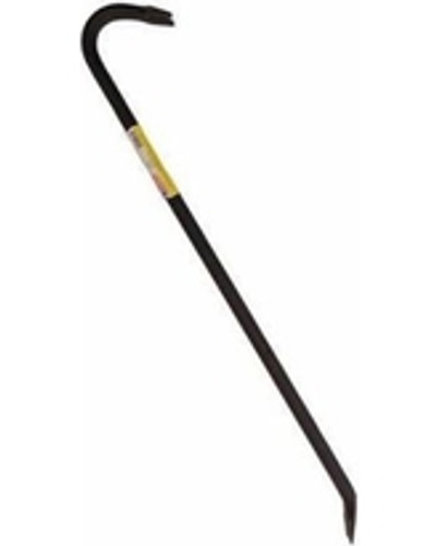 "Council Tool 36"" x 3/4"" Gooseneck Crow Bar"