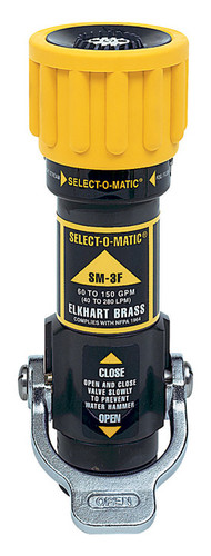 """Elkhart 1"""" Select O Matic Nozzle - 10-75 GPM @ 100 PSI"""