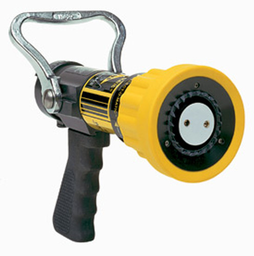 """Elkhart 1"""" Select O Matic Nozzle with Pistol Grip - 10-75 GPM @ 100 PSI"""