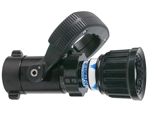 "TFT Legacy 1"" Quadrafog Nozzle with Shutoff - 5, 10, 24, 40 GPM @ 100 PSI"