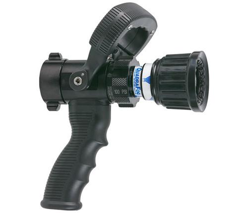 "TFT Legacy 1"" Quadrafog Nozzle with Shutoff and Pistol Grip - 5, 10, 24, 40 GPM @ 100 PSI"