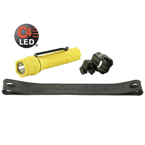 Streamlight Poly Tac Tactical Light Helmet Lighting Kit - Yellow