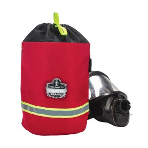 Ergodyne #GB5080 SCBA Mask Bag - Red