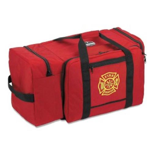 Ergodyne #GB5005P Large Fire Rescue Gear Bag - Red