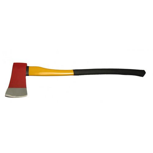 FlameFighter 6lb. Flathead Axe w/ Fiberglass / Rubber Handle