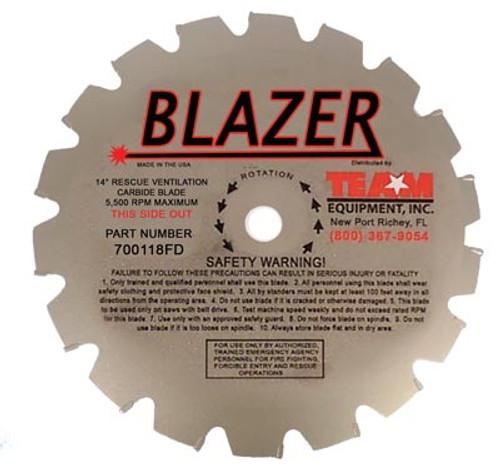 "Team Equipment 12"" / 16 Tooth Blazer Carbide Tip Replacement Blade"