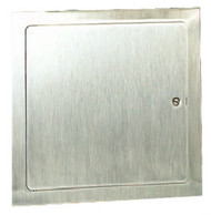 "Elmdor Dry Wall Access Door Stainless Steel - 8"" x 8"""