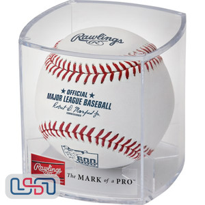 2017 Albert Pujols 600th Career Home Run Rawlings Official MLB Baseball - Cubed