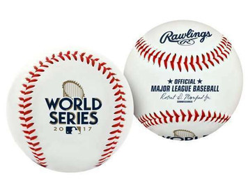 2017 RFawlings World Series Replica Baseball - Houston Astros vs LA Dodgers
