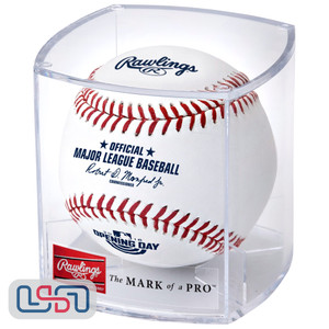 Rawlings Official 2018 Opening Day Game MLB Baseball - Cubed