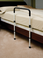 Bed Rail with Floor Support