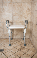 Shower Bench with Arms - Deluxe