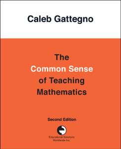 The Common Sense of Teaching Mathematics