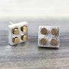 2-Tone Lego Earrings