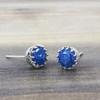 Pretty Stone Earrings in Silver