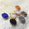 Luxe Resin Druzy Necklace