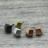 Luxe Faceted Square Earrings