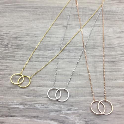 Double Eternity Necklace