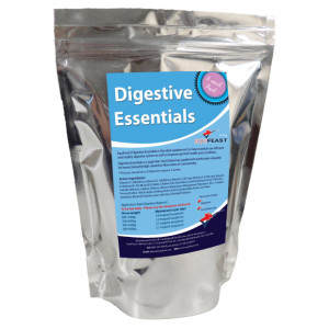 Digestive supplement for horses.