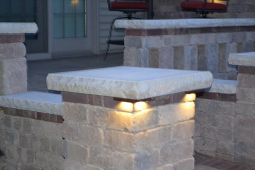 ...  Cornelius  Corner Pillar Cap LED Lights Installed ·   ... & Cornelius