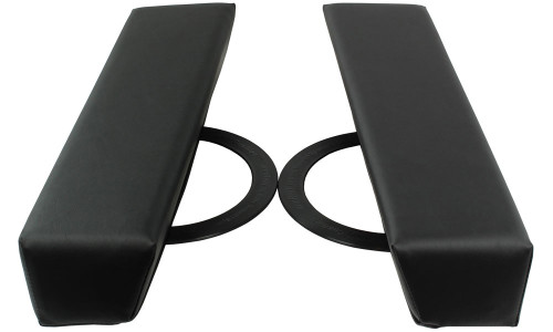 Arm Rests for optimal positioning of the shoulders during massage.