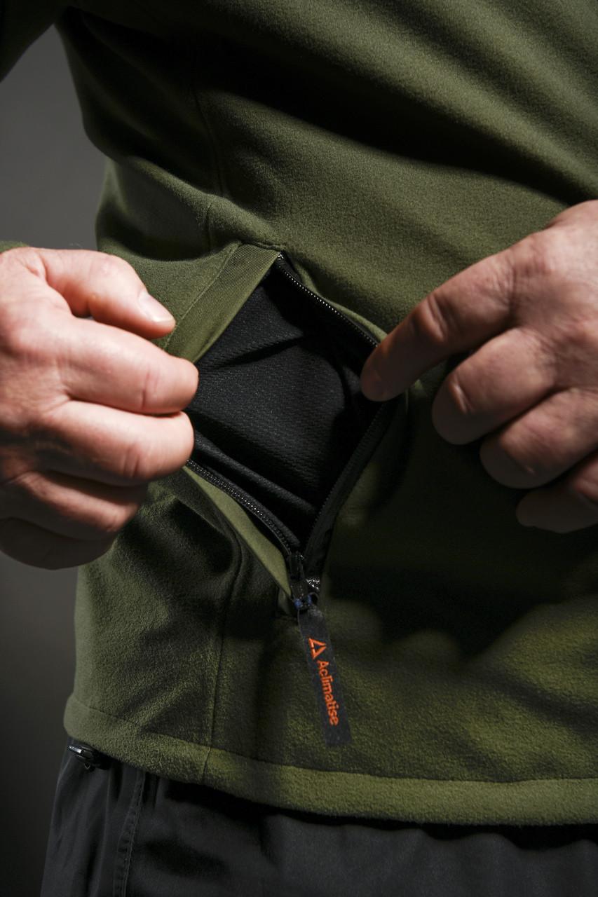Vented pocket