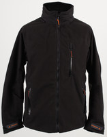 Seahawk Mens Waterproof Fleece Black