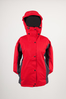 Waterproof Ladies Osprey jacket Red