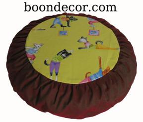 Zafu Meditation Cushion for Kids - Limited Edition - Yoga Kitties II