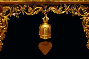 Thai Temple Bell - Wind Chime - Solid Brass