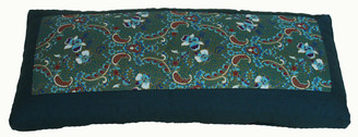 "Backrest Support Cushion ""Indochine"" Teal # 7"
