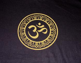 T-Shirts with Sacred Symbols - Unisex: Tee Shirts with Sacred Symbols - Unisex - Om