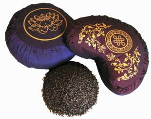 Buckwheat Hulls - 1st Quality - Organic & Domestically Grown: Five Pound Bag