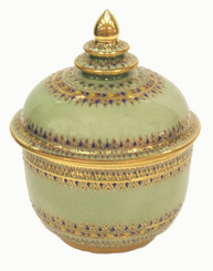 Celadon Covered Jar
