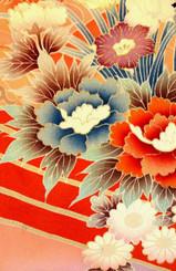 Handbags- Vintage Japanese Silk Kimono Print Fabrics: Vintage Silk Japanese Kimono Handbag