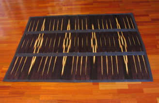 Tatami Mats - Folding Tie-Dyed: Large Folding Tatami Mat