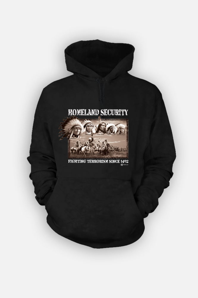 Homeland Security Feathers  Hoody