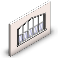 Top Rake Window