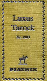 Austrian Tarock Card Deck, Luxus Back Design