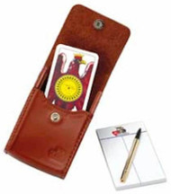 Napoletane Card Deck No. 97/25, Leather Case