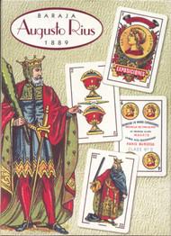 Historic Edition: Baraja Augusta Rius 1889