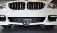 2012-2016 BMW 650i, 640i, 528i, 535i, 550i M Sport - Quick Release Front License Plate Bracket