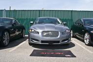 2012-2015 Jaguar XF Luxury Sedan - Quick Release Front License Plate Bracket