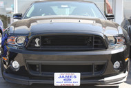 2013-2014 Ford Mustang Shelby GT500 w/ Second Chin Splitter - Removable Front License Plate Bracket