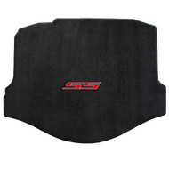 Camaro 2010-2015 Cargo/Trunk Mat - Ultimat Lloyds Mat with SS Logo Script: Jet Black